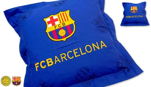 Capa de Almofada Football Club Flangeado BARCELONA