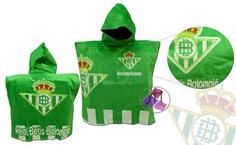 Poncho Toalla Real Betis Balompie