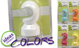 Soporte techo Ideas Colors 22mm.