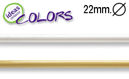 Barras para cortinas Ideas Colors 22mm.