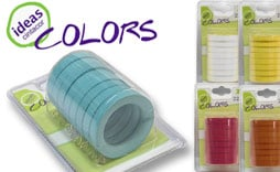 Pack anillas Ideas Colors barras de 22mm.
