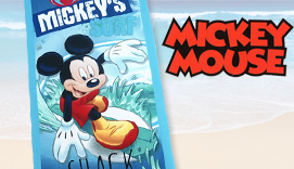 Toalla de playa MICKEY SURF
