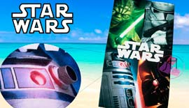 Toalla de playa STAR WARS SS09009