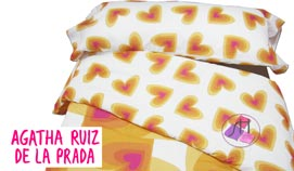Funda nórdica Joc de 2 peces ROMANTIC by Agatha Ruiz de la Prada