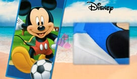 Toalla de playa Microfibra MICKEY MOUSE FOOTBALL