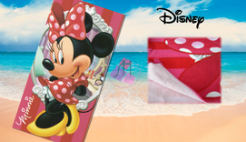 Toalla de playa microfibra MINNIE MOUSE PRETTY