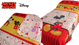 Copriletto-Cobrellit MICKEY 4753