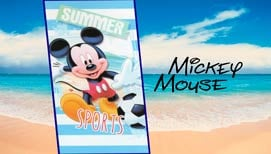 Toalla de Playa MICKEY SPORTS