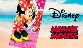Toalla de playa Microfibra MINNIE TEA
