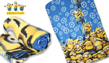 Manta Plaid Polar Minions 720-232