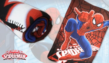 Manta Plaid Polar Marvel - Spider-man 720-246
