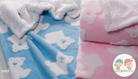 Blanket Doralina for baby-9761