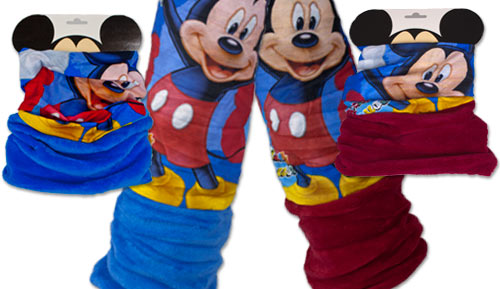 Buf con coralina Infantil - Mickey Mouse