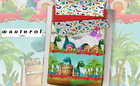 Sac complet JUNIOR 587  DINOSAUR