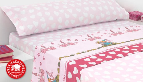 -PRINCESS - kukuxumuxu 3-piece bedding set
