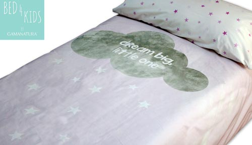 Funda nòrdica 100% cotó - 'DREAM BIG - Bed 4 kids by Gamanatura'