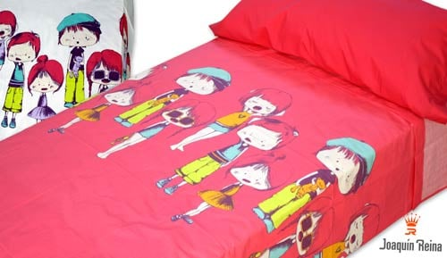 -Boys and girls - 2-piece bedding set