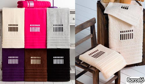Game towels 3 pieces-STRIPED-VICENTE BARCELÓ
