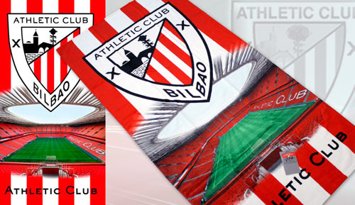 Tovallola de platja Athletic club Bilbao