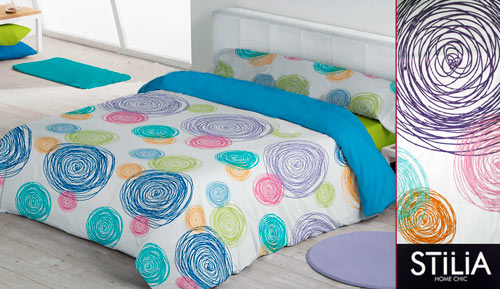-LAGUNA - STILIA 3-piece duvet cover