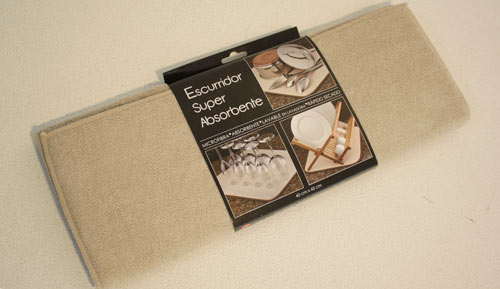 Escurridor super absorbente - Beige