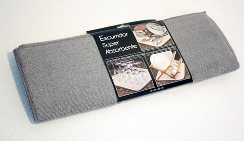 Escorredor super absorbent - Gris