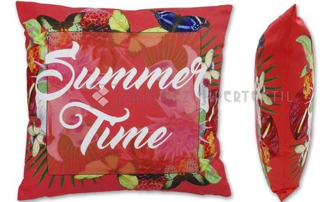 Funda de coixí + farciment palmspring SUMMER TIME