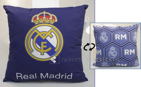 Funda de cojín + relleno REAL MADRID 258