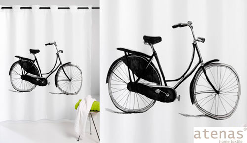 Cortina de baño mágica - 216 BICYCLE - ATENAS Home