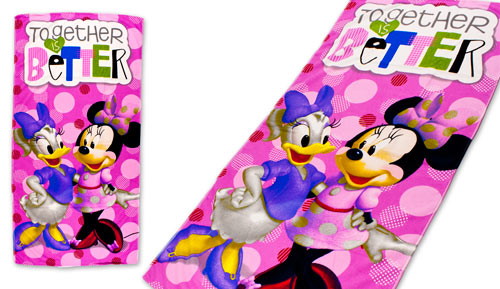 Toalla de playa Microfibra  MINNIE - BETTER 46037