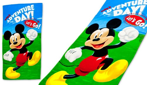 Toalla de playa Microfibra  MICKEY - ADVENTURE - 46036