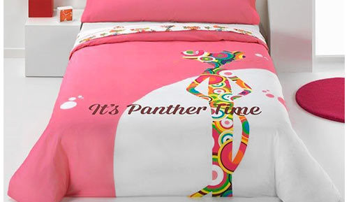 Pink Panther 2-piece duvet cover