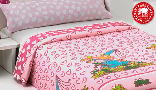 DUVET COVER 2 PIECES - PRINCESS - KUKUXUMUXU