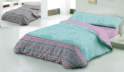 Cover duvet Microfiber 2-piece - ESTHER