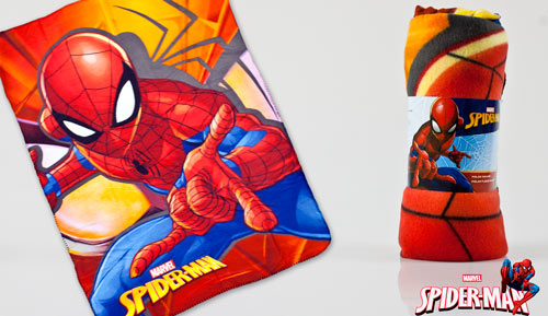 MANTA PLAID POLAR - Spiderman