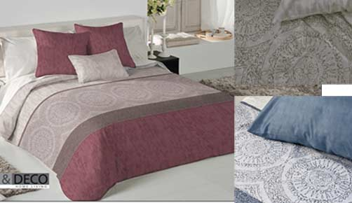 DUVET COVER + CUSHION PAD - LEWIS - FUNDECO