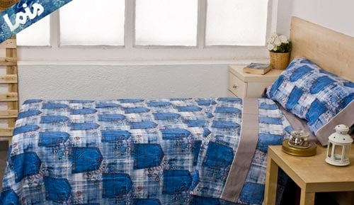-POCKETS - LOIS 3-piece bedding set