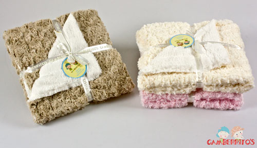 Blanket baby with Sheepskin - 9769 - GAMBERRITO completo