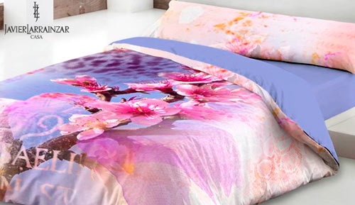 Duvet cover set 3 pieces - spring - Javier larrainzar