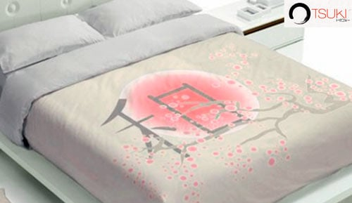 COVER DUVET 100% cotton - 2 pieces - Tsuki ATAMA