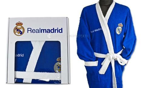 REAL MADRID azul adulto Robe de Terry
