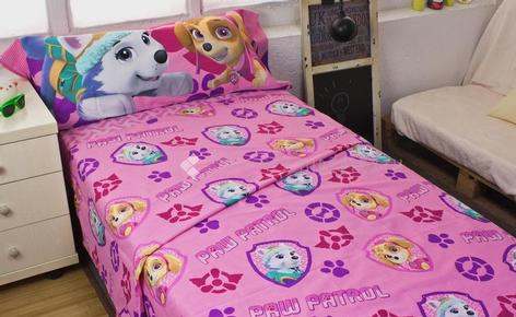Bed linen set 3-piece PAW PATROL 129 Pink