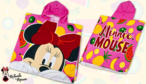 PONXO - TOVALLOLA MICROFIBRA - Minnie Mouse 2812 fruits