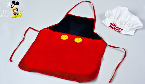 CONJUNT DAVANTAL + GORRA - Cookset - Mickey Mouse