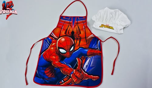 CONJUNT DAVANTAL + GORRA - Cookset - Marvel - Spiderman