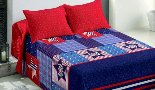 Bouti BEDSPREADS + cushion - Campus - Eclipse