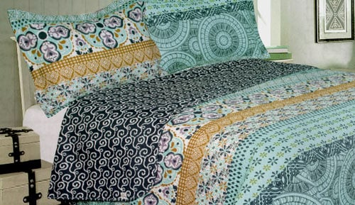 Bouti bedspreads + Cushion cover - Jaén