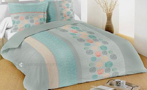 Duvet cover + 2 cushion covers 100% cotton LODA