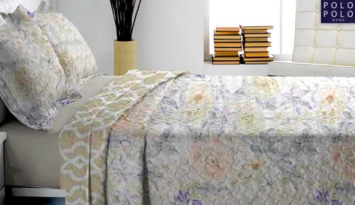 Bouti bedspread + Cushion cover - Magui - Polo Polo
