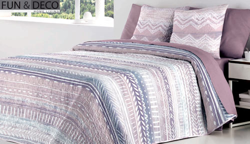 Bouti bedspread + cushion - Araceli - Fun & Deco